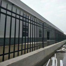国帆铁艺栅栏厂家 黑色锌钢栏杆 小区工艺护栏