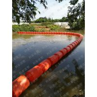 塑料拦垃圾浮漂水面拦截漂浮物浮筒厂家