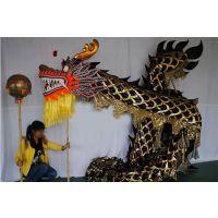 龙灯舞龙道具龙灯道具节日庆典舞龙舞狮表演龙灯黄金龙