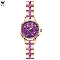 鑫柏琴广东供应商眼镜胶魅力女石英手表质量好
