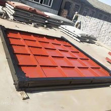 0.6*0.6米铸铁镶铜闸门尺寸 镶铜方闸门的性能及结构 可定制