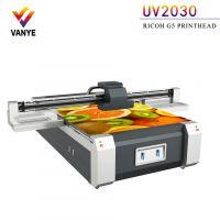 瓷砖陶瓷3d打印 电视背景墙uv平板打印机 理光工业喷头uv打印机厂家