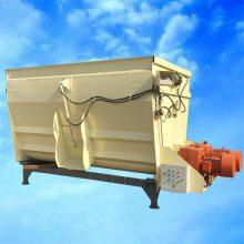 搅拌无死角TMR搅拌机 根据要求定制养殖场混料机 润丰电动双轴拌料机