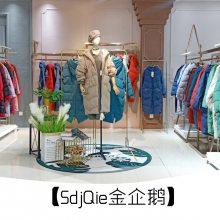 石井服装批发市场在哪就在广州明浩圣典金企鹅羽绒服库存走份批发