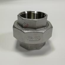 304丝扣活接 2寸螺纹活接 304不锈钢铸件DN50