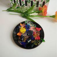 创意日式调味碟 厨房多用调料盘碟 小吃餐具酱醋玻璃碟酱料碟