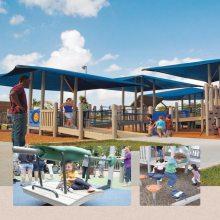大自然系列无动力游乐设施_儿童蹦床乐园设备直销厂家_淘气堡配件销售