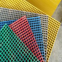 方格板厂家 玻璃钢格栅板光伏通道专用 防腐蚀漏水板