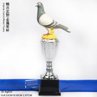 双关及三关鸽王比赛奖杯 眺望星空 属于你的赛鸽梦 厂家直销优质奖杯