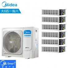 北京美的變頻多聯機 美的變頻風管機 美的空調1匹 MDVH-J22T2/BP3N1Y-TR(B)