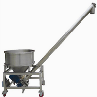 特价螺旋提升机型号加工定制 食品粉料螺旋提升机设计供应销售
