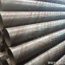 过滤器管马井点管区别 地槽降水钢管滤管273mm规格尺寸