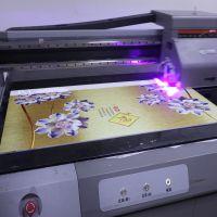 营口瓷砖玻璃UV彩绘机 朝阳纤维板背景墙打印机 3D5D8D背景墙UV喷绘机