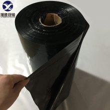 东莞黑色pof热收缩膜厂 黑色pof收缩膜 黑色pof对折收缩膜 黑色聚乙烃烯收缩膜