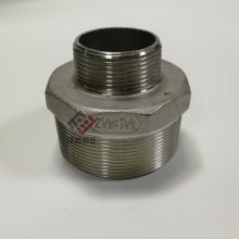 304不锈钢变径内接 内牙接头不锈钢DN50变DN40