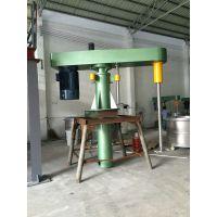 3吨乳胶漆平台分散机厂家 锐勒75kw-90kw大型转向搅拌机
