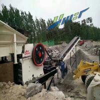 工厂直销移动式破碎机站 大型石头破碎机 建筑垃圾破碎分筛设备