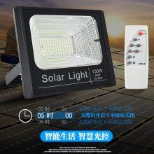 江西赣州南昌抚州 100W太阳能投光灯多少钱 太阳能户外投光灯太阳能投光灯厂家