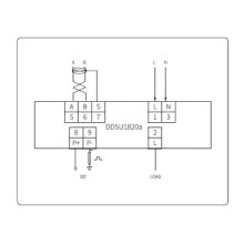 供应爱博精电 DDSU1820a 单相电子式电能表