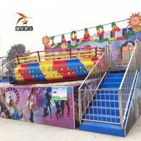儿童大型游乐设备童星迪斯科转盘好项目赚钱快