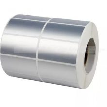 唐山哑银标签厂家 哑银标签纸多少钱 河北哑银纸标签 PET不干胶标签