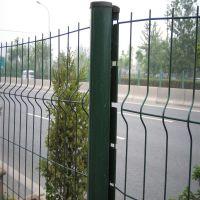 昆明双边道路护栏网 小区围栏网 学校围墙护栏网