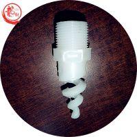 白色PP材质螺旋喷嘴型号及参数——河北龙轩
