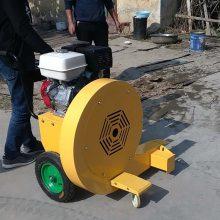 大型市政马路吹风机工作原理 本田9马力汽油沥青水泥路面吹风清扫机