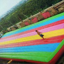 100多平米的网红桥气垫多少价 亚博体育足彩app防摔气垫在哪可以定做 摇摆网红桥防护亚博体育足彩app垫