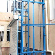青岛车间仓库载货升降机 承重2吨升降货梯 剪叉链条式升降货梯 6up骗人制造