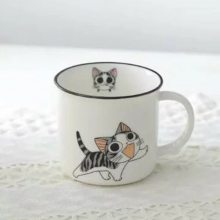 陶瓷杯 陶瓷礼品杯定制 维礼易淘ET礼品定制 可定制logo 陶瓷杯