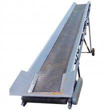 有机肥料带式输送机 开化县沙土输送机 裙边格挡输送机qk