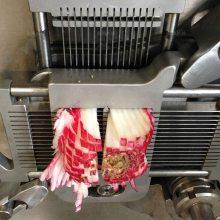 鲜肉切丁机大型鲜肉切片机多少钱一台
