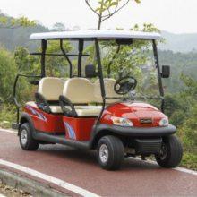 山东4座景区电动旅游观光车游览车 旅游电瓶车 高尔夫球车