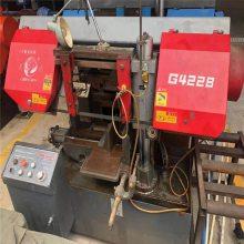 供应二手带锯床 GT4250大型液压角度锯切机床 卧式金属双立柱锯床