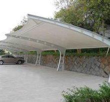 污水池加盖棚-苏州车棚-苏州创锦帆装饰工程有限公司车棚
