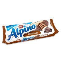 捷克原装进口批发 阿尔皮诺榛子巧克力威化饼干47g 休闲零食
