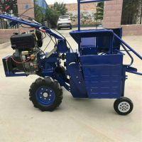 全新中型玉米收割机 收割玉米穗切碎玉米秸秆收获机 秸秆还田机