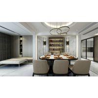 华润公园九里一期室内设计效果图,套内120平米装修案例