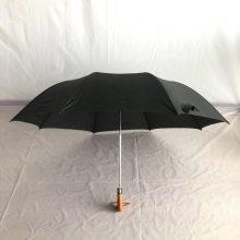 现货批发全自动二折商务晴雨伞、高尔夫两折礼品伞定制 厂家直销