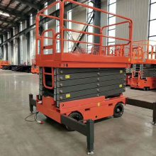 河南高空作业专用设施 四轮移动式升降机 航天专业定制升降平台 全国安装维护原厂配件