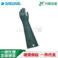 DAILOVE A95-55耐强酸碱溶剂手套 实验室防腐蚀手套 日本进口