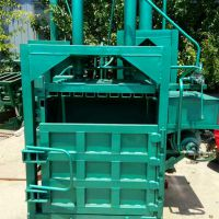 厂家直销20吨压力液压打包机 塑料瓶废旧纸箱压块机 油桶压扁机厂家