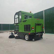 电动清扫车可定带自动喷洒 全封闭智能驾驶式电动扫路车 皓宇 电动扫路车小区