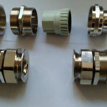供应上海铜镀锡喇叭口电缆接头 M70*1.5双层喇叭口IP68-10 巴压力紧固效果好