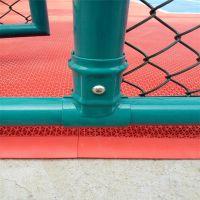 球场围栏厂家 篮球场围栏网价格 镀锌勾花网规格