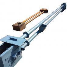 兴化市倾斜式耐高温石英砂管链输送机_多功能多点出料小颗粒管链输送机厂家