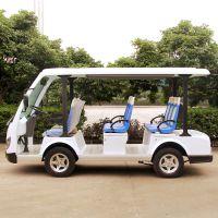安步优品ABLQY083A白色豪华8座电动游览观光车看楼电瓶车景区观光电动车图片及报价