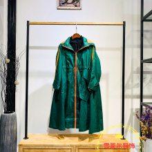 杭州时尚品牌服饰艾沸宽松款外套尾货四季青货源批发新款组货包
