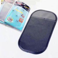汽车摆件防滑垫手机防滑垫车用硅胶止滑垫14*8大号(带包装)
